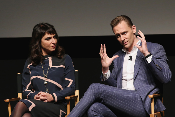 Susanne Bier & Tom Hiddleston at the Tribeca Film Festival screening of The Night Manager
