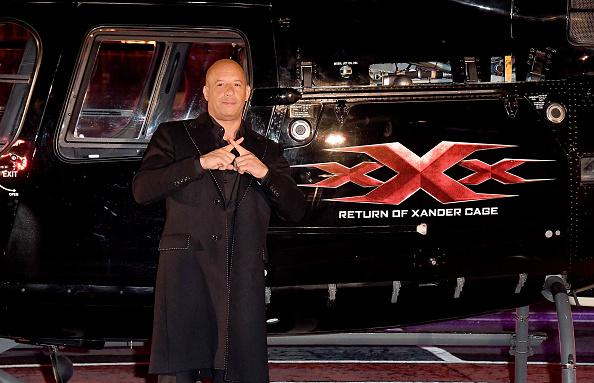 Vin Diesel arrival of Xander Cage