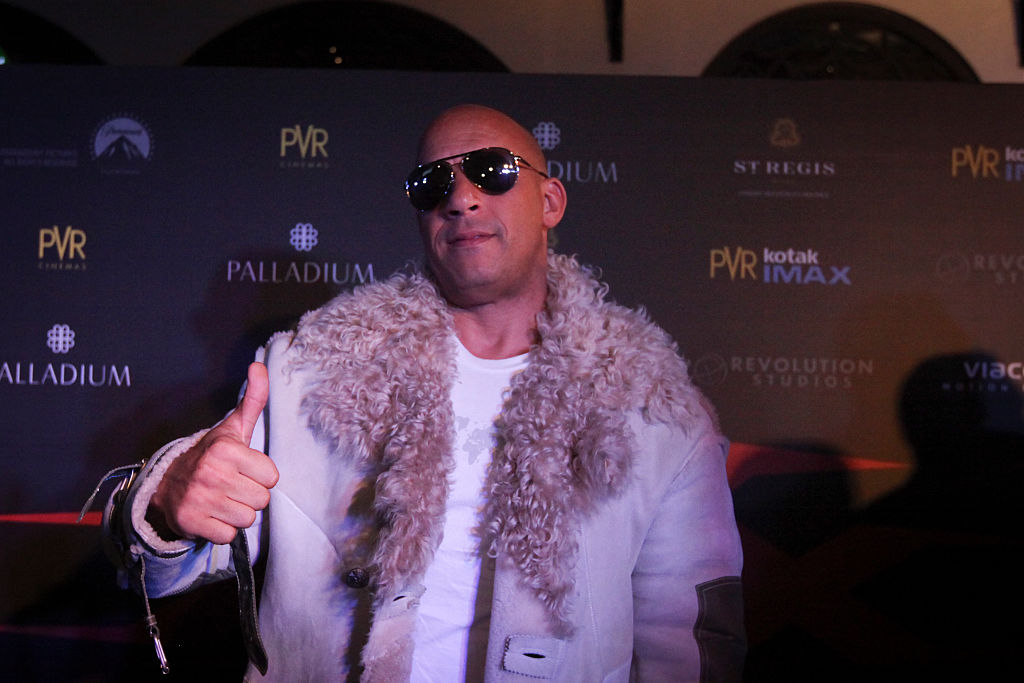 Vin Diesel is Out and About in China to Promote his Latest Movie