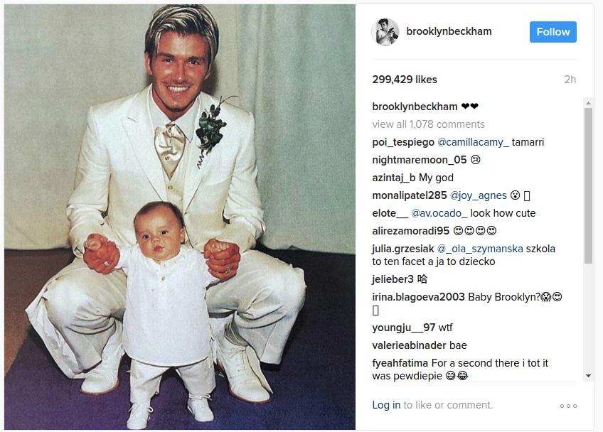 brooklyn beckham instagram
