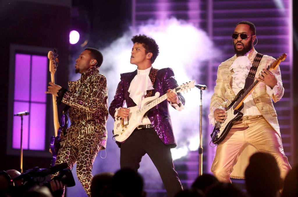 bruno mars grammys performance