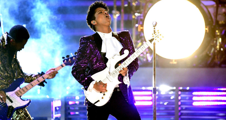 bruno mars prince tribute youtube