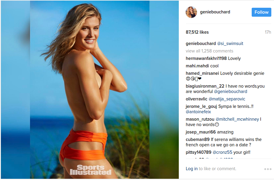eugenie bouchard hot pics