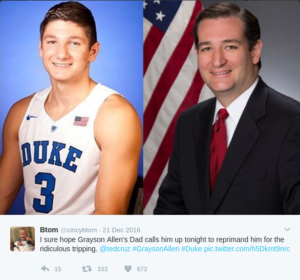 funny grayson allen memes here are 10 hilarious memes of grayson allen, duke's most hated,Funny Duke Memes