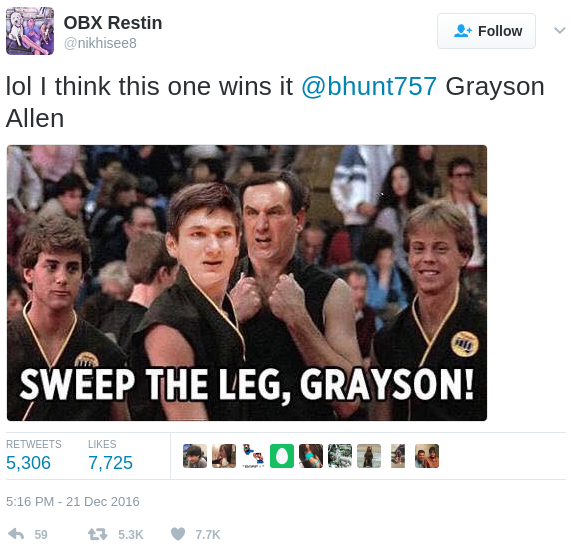 grayson allen memes