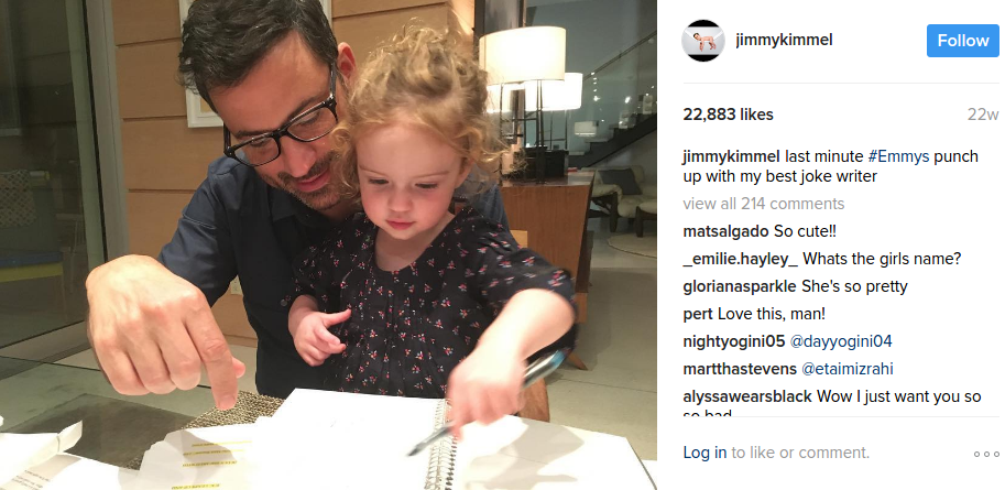 Jimmy Kimmel S Kids Facts You Need To Know About Katie Kevin Jane Kimmel Kimmel married his second wife, molly mcnearney, in 2013. katie kevin jane kimmel