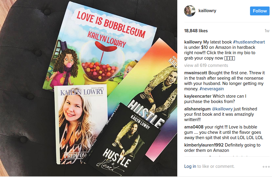 kailyn lowry books