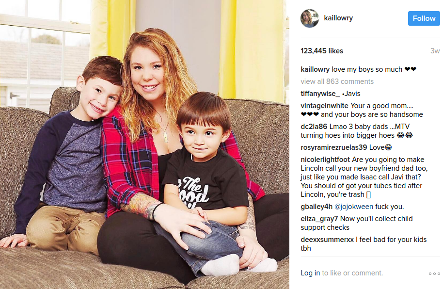 kailyn lowry kids