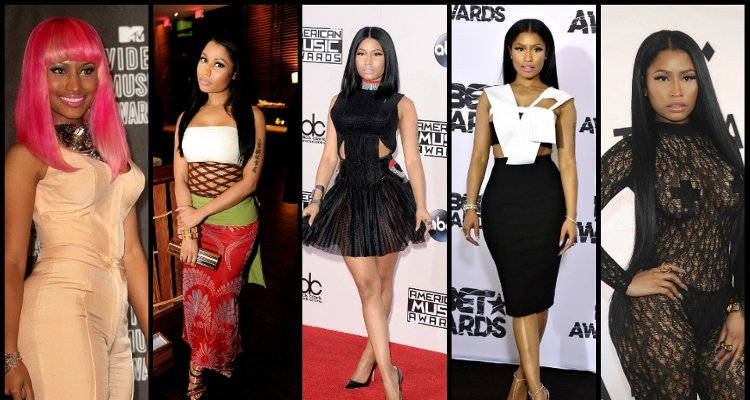 nicki minaj Before After