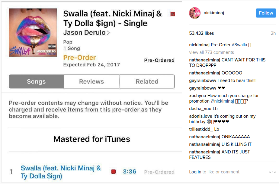 nicki minaj ty dolla sign