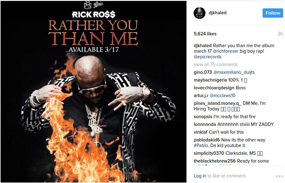 rick ross new album 2017