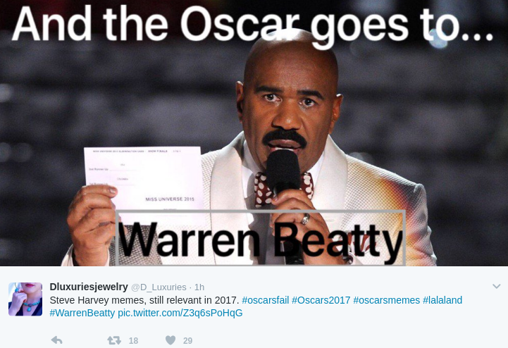 steve harvey memes the internet never forgets steve harvey memes to re live the,Steve Harvey Meme Oscars