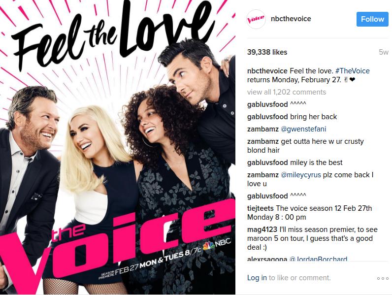 the voice 2017