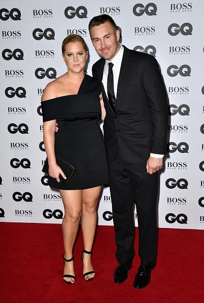 Amy Schumer and Ben Hanisch