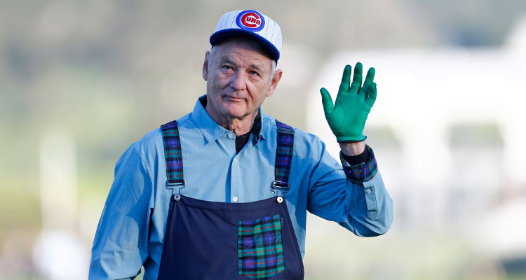 Bill Murray Steals March Madness Once Again, Cheers On Son's Victory