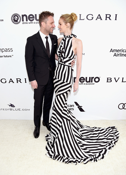 Chris Hardwick & Lydia Hearst