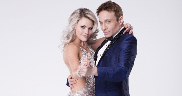 Chris Kattan and Witney Carson on Dancing with the Stars