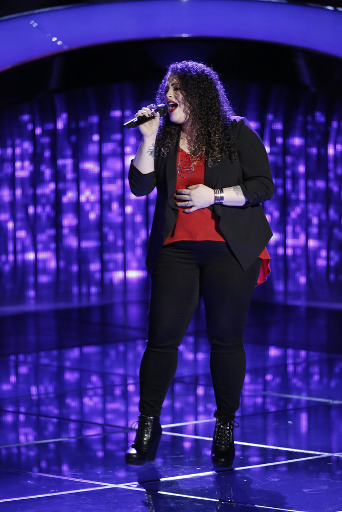 Enid Ortiz The Voice