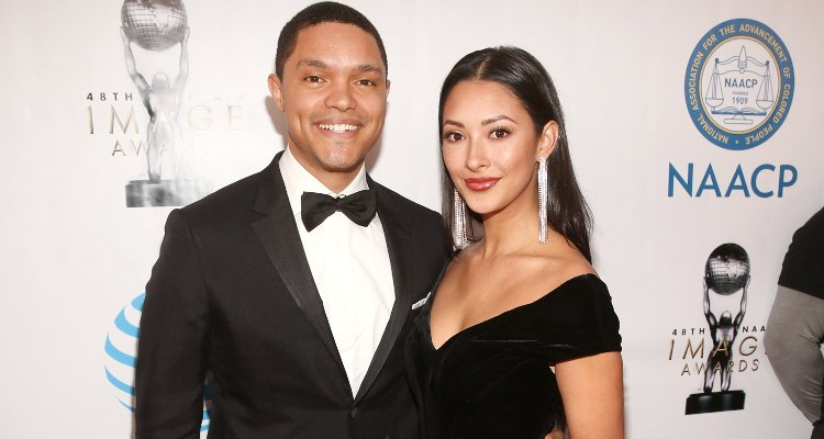 Jordyn Taylor Trevor Noah Girlfriend
