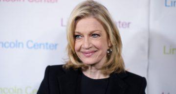 Journalist Diane Sawyer