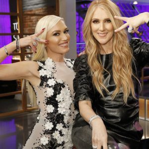 Gwen Stefani and Celine Dion
