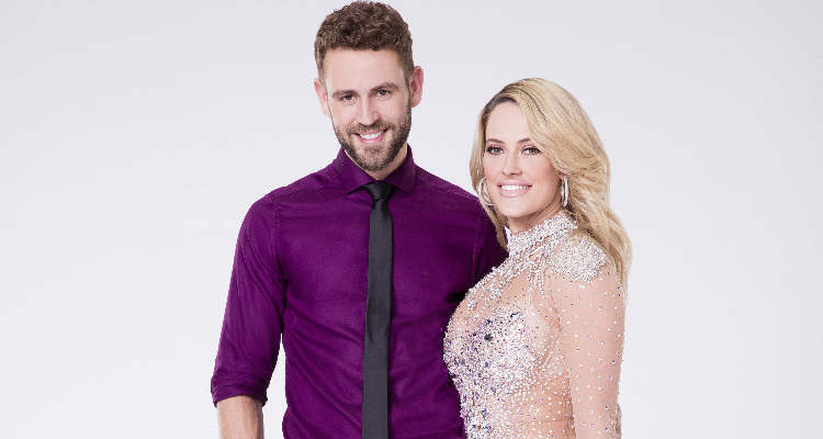 Nick Viall & Peta Murgatroyd on Dancing with the Stars 2017