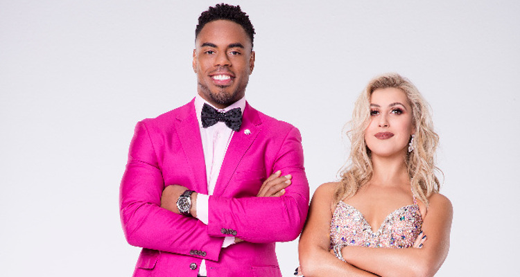 Rashad Jennings and Emma Slater DWTS