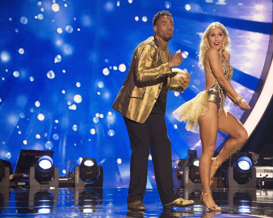 Rashad Jennings dance partner