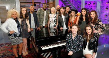 The Voice 2017 Contestants