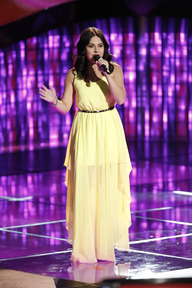 Valerie Ponzio on The Voice