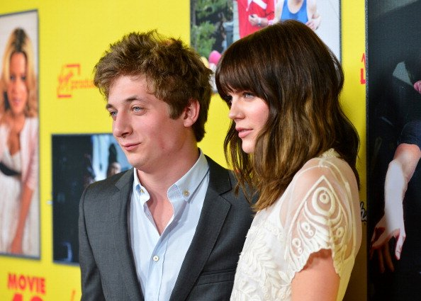 emma greenwell and jeremy allen