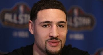 klay thompson girlfriend 2017
