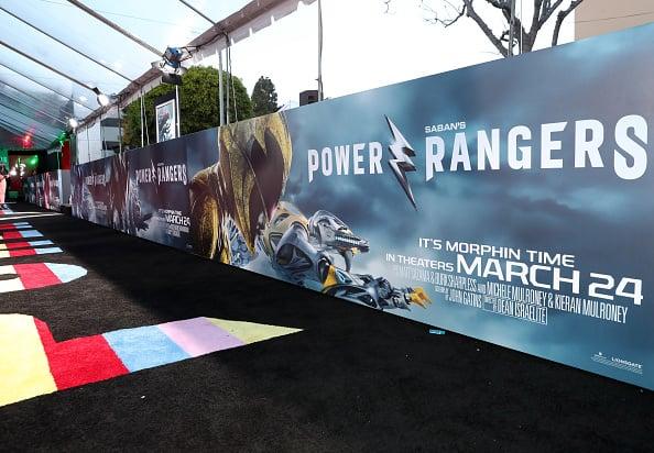 power rangers premiere