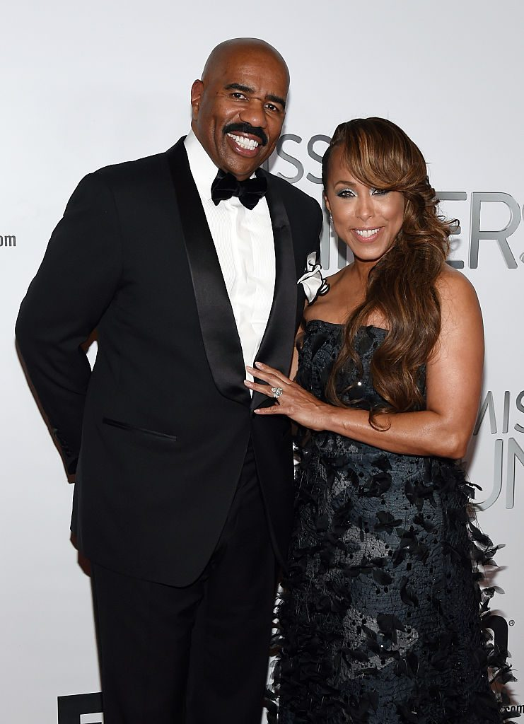 steve harvey wife