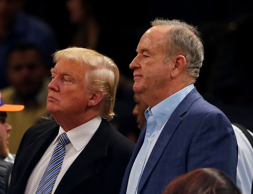 Bill OReilly and Donald Trump
