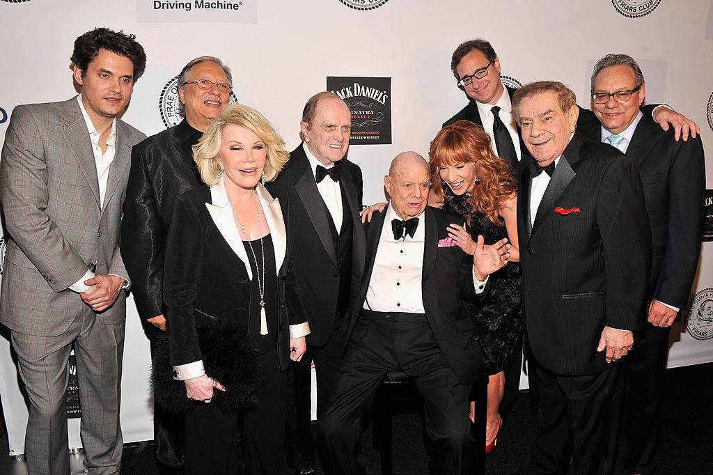Don Rickles & fellow comedians at the 2013 Friars Foundation Annual Applause Gala