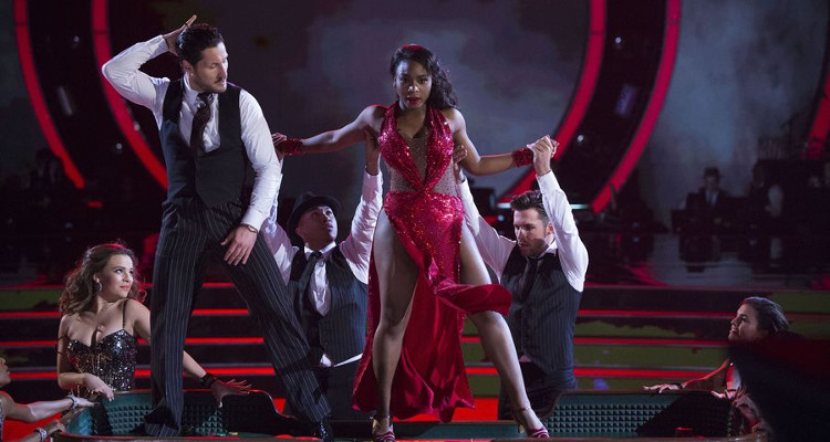 Normani Kordei on Dancing with the Stars