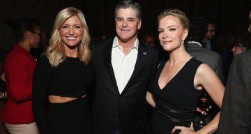 Sean Hannity and Jill Rhodes