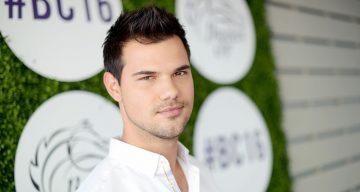 Taylor Lautner Now