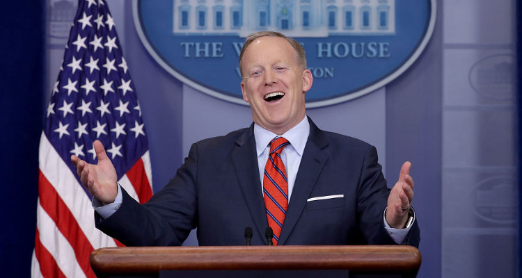 Wrong with Sean Spicer