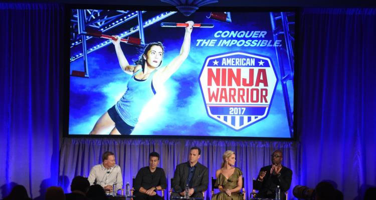 Stephen Amell hits all the marks on American Ninja Warrior course