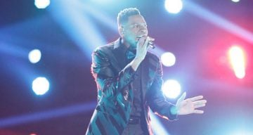 Chris Blue The voice Winner