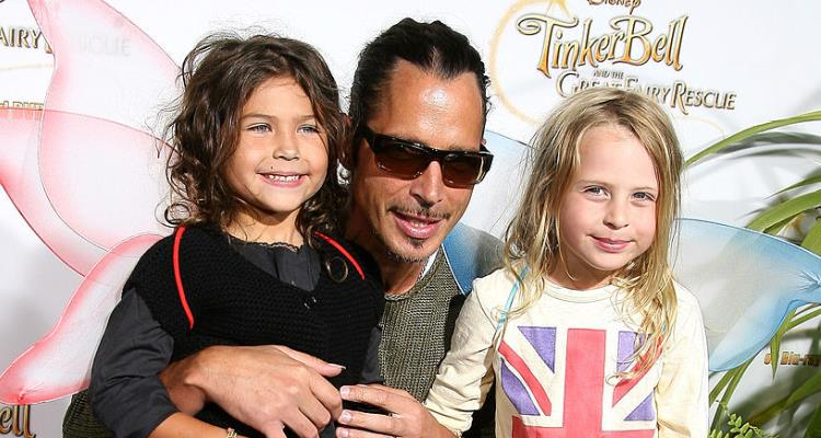 Chris Cornell and his children