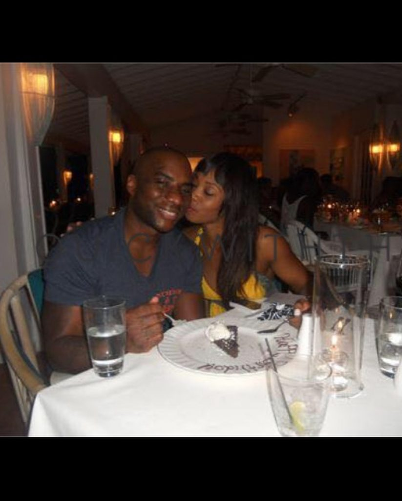 Jessica Gadsden with husband, Charlamagne Tha God