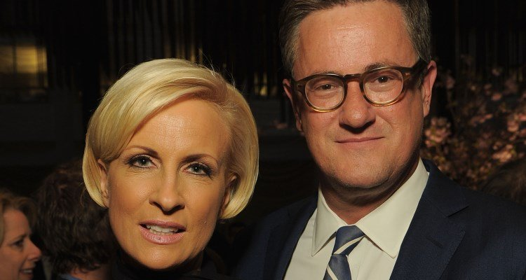Mika Brzezinski and Joe Scarborough