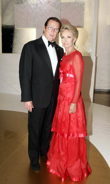 Roger Moore & Christina Tholstrup