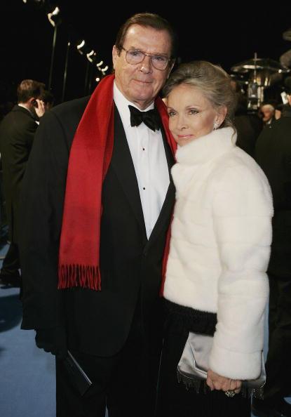 Roger Moore & Kristina Tholstrup