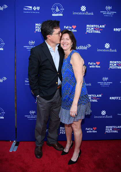Stephen Colbert and Evelyn McGee-Colbert