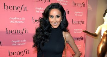 TV personality Lilly Ghalichi attends Benefit Cosmetics and Vanessa Hudgens Kick-Off National Wing Women