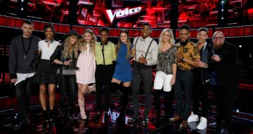 The Voice Top 11 Contestants